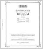 Scott Belgium Stamp Album Part I,  1849 - 1947