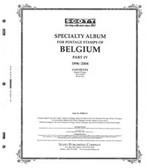 Scott Belgium Stamp Album Part 4,  1996 - 2004
