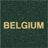 Scott Belgium Specialty Binder Label