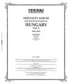 Scott Hungary Album Pages, Part 2 ( 1950  - 1965)