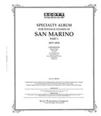 Scott San Marino Stamp Album Pages, Part 1 (1877 - 1976)