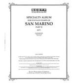 Scott San Marino Stamp Album Pages, Part 2 (1977 - 1994)