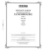 Scott Luxembourg Stamp Album Pages, Part 1 (1852 - 1986)