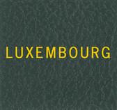 Scott Luxembourg Specialty Binder Label