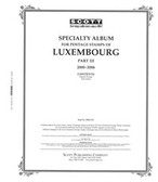 Scott Luxembourg Stamp Album Pages, Part 3 (2000 - 2006)