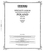 Scott Poland Stamp Album Pages, Part 3 (1971 - 1985)