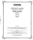 Scott Poland Stamp Album Pages, Part 4 (1986 - 1999)