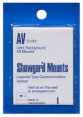 Showgard 31 x 41 mm Pre-Cut Mounts