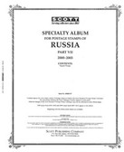 Scott Russia Stamp Album Pages, Part 7  (2000 - 2003)