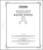 Scott Baltic States Stamp Album, Part 1 (1918 - 1940)