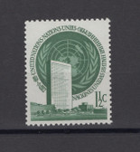 United Nations -  Offices in New York, Scott Cat. No. 2, MNH