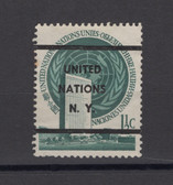 United Nations -  Offices in New York, Scott Cat. No. 2a, MNH