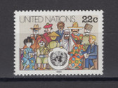United Nations -  Offices in New York, Scott Cat. No. 445, MNH