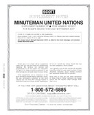 Scott United Nations Minuteman Album Supplement, 2017 #27
