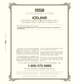 Scott Iceland Stamp Album Supplement, 2017 #21