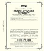 Scott British Antarctic Territory  Album Supplement, 2017 #17