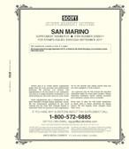 Scott San Marino Stamp Album Supplement, 2017 #67