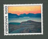 Faroe Islands, Scott Cat No. 020, MNH