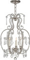 Hurley Chandelier  with Crystals