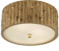 Bamboo Cieling Mount Light