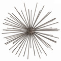 Starburst Sculpture in Gray