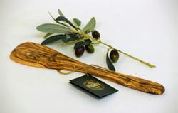 Olive Wood Solid Spatula