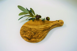 Olive Wood Small Board with Handle