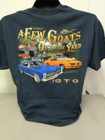 Pontiac Official Licensed GTO A few Goats out in the Yard Graphic T-Shirt