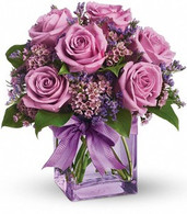 Lavender Rose Cube