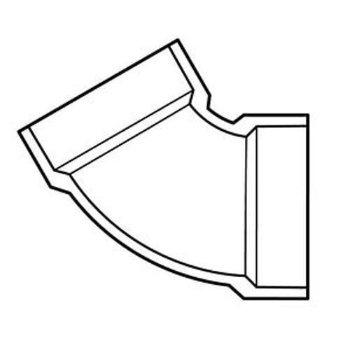 "8"" PVC DWV 60 (1/6) (S x S)"