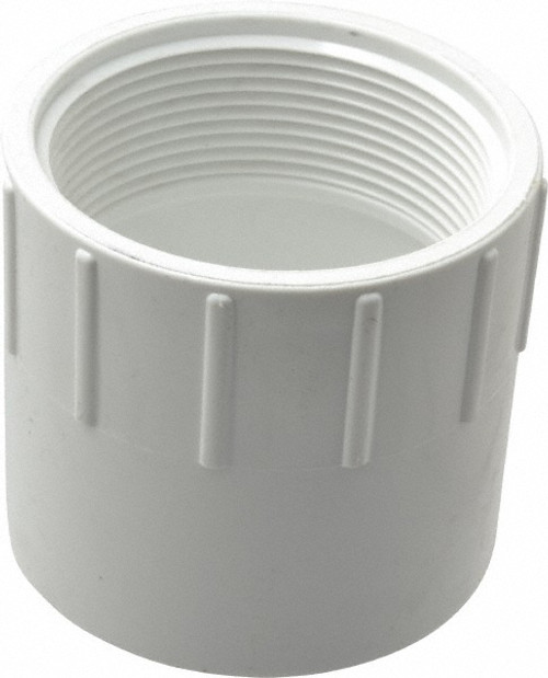 """2"""" PVC Schedule 40 Female Adapter (S x FPT)"""