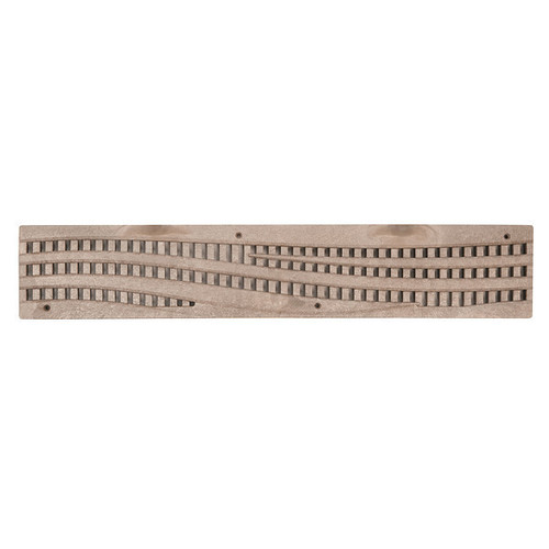 NDS Spee-D Channel Decorative Wave Grate - Sand (Each)