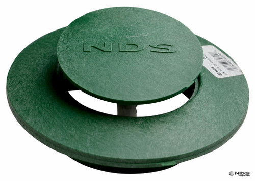 """6"""" NDS Pop-Up Emitter with SDR35 Elbow (Green) (Each)"""