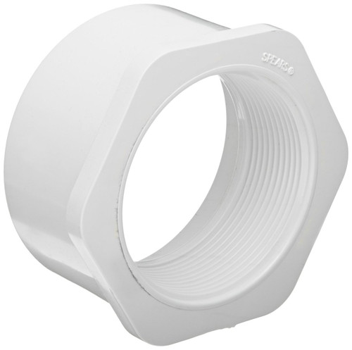"1 1/4"" x 3/4"" PVC Schedule 40 Reducer Bushing (Sp x FPT)"