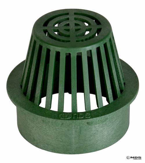 "NDS  6"" Atrium Grate - Green (Box of 10)"