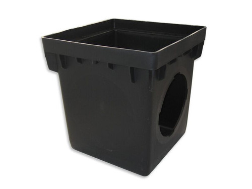 """NDS 12"""" x 12"""" Catch Basin w/Two Opening (Each)"""