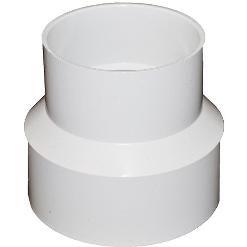 """10"""" X 8"""" PVC SDR35 Solvent Weld Coupling (S x S)"""