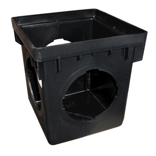 """NDS 12"""" x 12"""" Catch Basin w/Three Opening (Each)"""