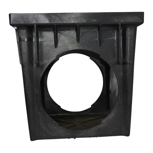 """NDS 24"""" X 24"""" Catch Basin W/Two Opening (1 Piece)"""