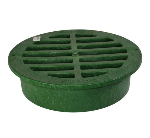 "NDS 15"" Round Grate - Green"