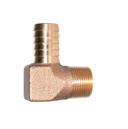"3/4"" Bronze Hydrant Insert 90 (Insert x MPT)"