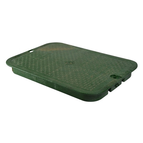 """NDS 13"""" x 20"""" Valve Box Cover ONLY - Green"""