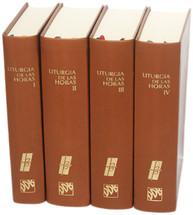 LITURGIA DE LAS HORAS (4 tomos)