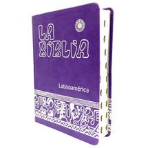 BIBLIA LATINOAMERICANA Letra Grande - Edición de lujo