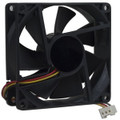 "3"" x 3"" 80mm Case Fan with 3 Pin Connector Black"