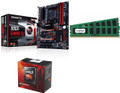 AMD 990X Combo, AMD FX-8350 8-Core (4 GHZ), 990X Gaming SLI Motherboard, 16GB DDR3 RAM