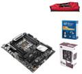 Intel X99A Raider Combo, Intel Core i7-5820K 3.3GHZ (6-Core), 16GB DDR4, Cooler Master Hyper 212 Evo