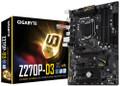 GIGABYTE GA-Z270P-D3 (rev. 1.0) LGA 1151 Intel Z270 HDMI SATA 6Gb/s USB 3.1 ATX Motherboards - Intel