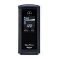 CyberPower Intelligent LCD CP1000AVRLCD 1000VA Tower UPS 1000VA/600W - 1 Minute Full Load - 4 x NEMA 5-15R - Surge-protected, 5 x NEMA 5-15R - Battery/Surge-protected