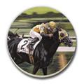 The Long Shot Race Horse Coaster Set